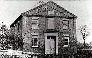 The Wesleyan Methodist chapel about 1900 [Z50/134/1]